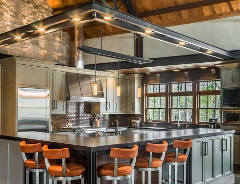 PB Kitchen Design Industrial Mequon Wisconsin
